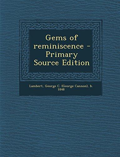 9781293841518: Gems of reminiscence