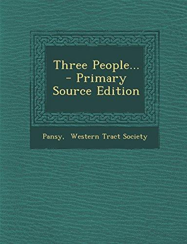 9781293872864: Three People...