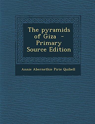 9781293882405: The pyramids of Giza