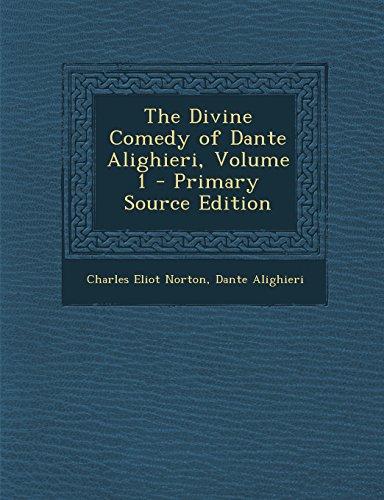 9781293893661: The Divine Comedy of Dante Alighieri, Volume 1