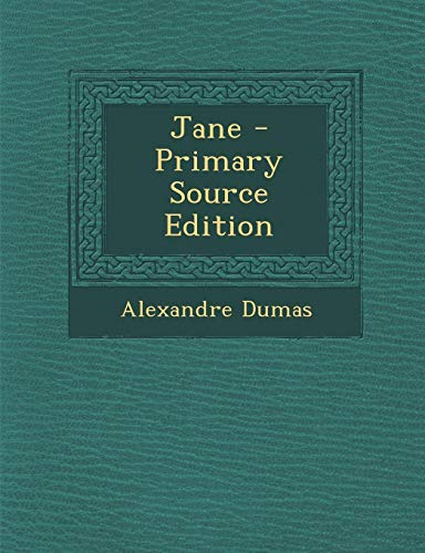 9781293899861: Jane - Primary Source Edition