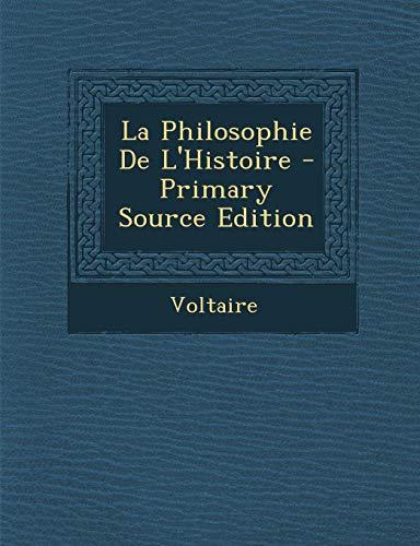 9781293905982: La Philosophie de L'Histoire