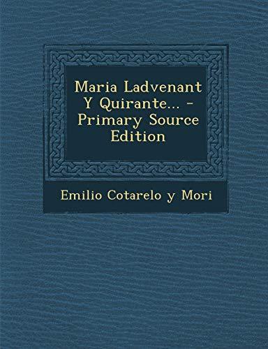 9781293916896: Maria Ladvenant Y Quirante... (Spanish Edition)