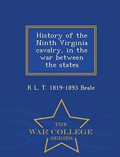 History of the Ninth Virginia Cavalry, in: R L T