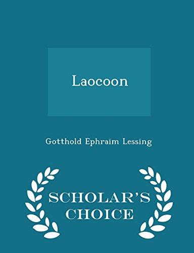 9781293987865: Laocoon - Scholar's Choice Edition