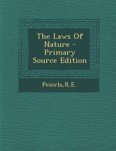 9781294039730: The Laws Of Nature