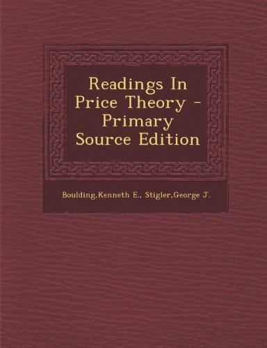 Readings in Price Theory