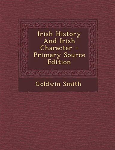 9781294095682: Irish History And Irish Character - Primary Source Edition