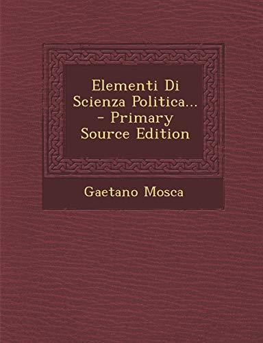 9781294097860: Elementi Di Scienza Politica...
