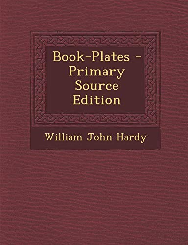 9781294156420: Book-Plates - Primary Source Edition