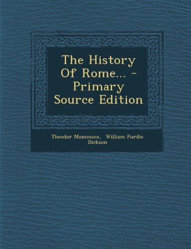9781294188759: The History Of Rome...