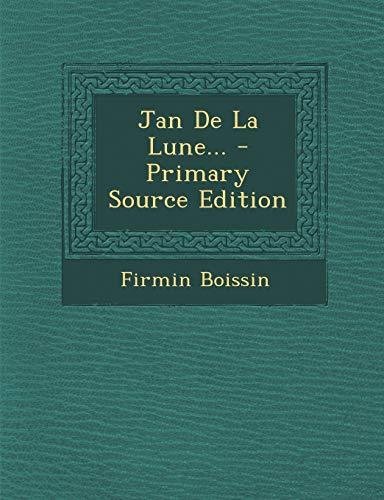 9781294192367: Jan de La Lune...