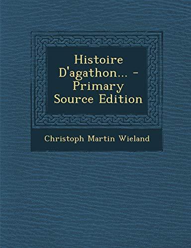 9781294199502: Histoire D'agathon... (French Edition)