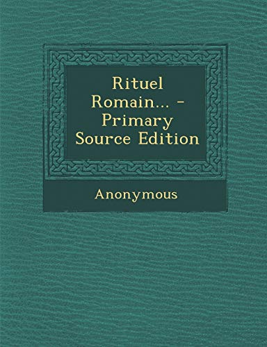 9781294200086: Rituel Romain... (French Edition)