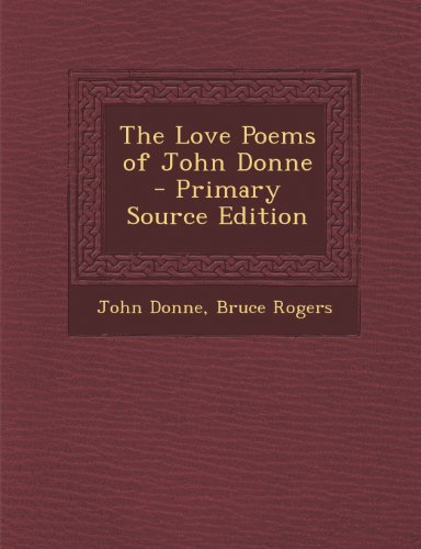 9781294285168: The Love Poems of John Donne