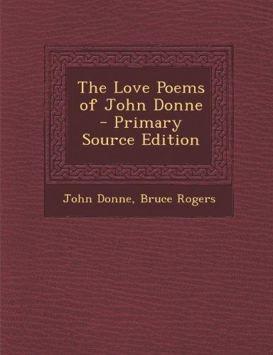9781294285168: The Love Poems of John Donne
