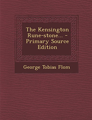 9781294375852: The Kensington Rune-stone...