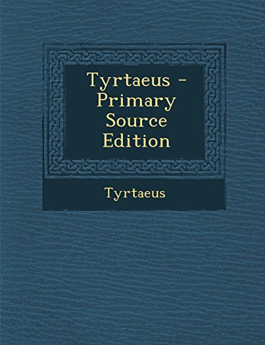9781294381839: Tyrtaeus