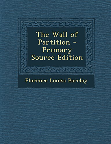9781294431756: The Wall of Partition