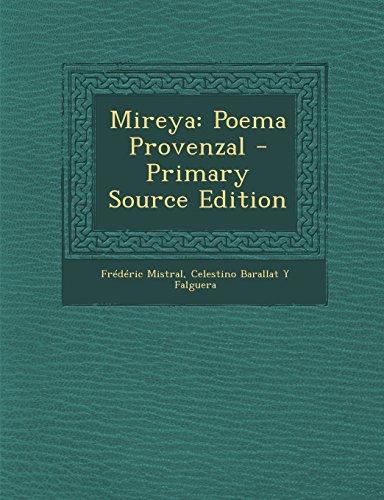9781294449416: Mireya: Poema Provenzal (Spanish Edition)