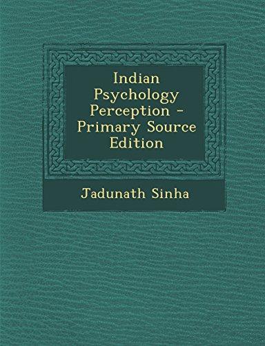 9781294451099: Indian Psychology Perception