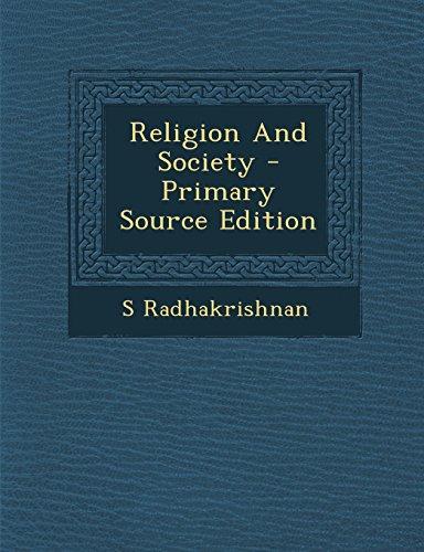 9781294461678: Religion And Society