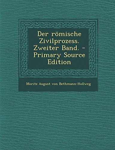 9781294488071: Der römische Zivilprozess. Zweiter Band. (German Edition)