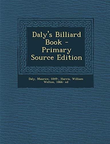 9781294550358: Daly's Billiard Book