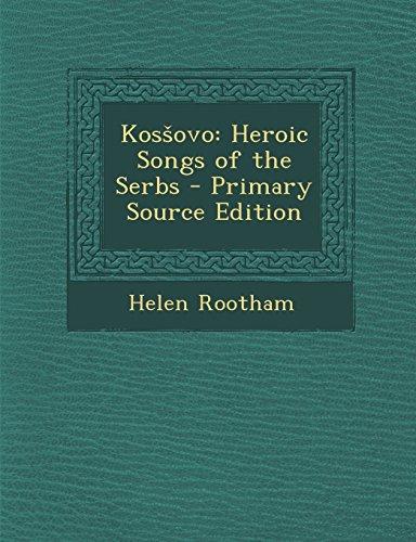 9781294648406: Kosšovo: Heroic Songs of the Serbs