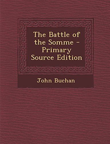 9781294655503: The Battle of the Somme