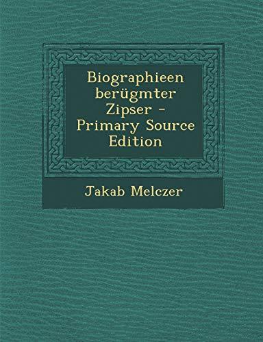 9781294660835: Biographieen berügmter Zipser (German Edition)