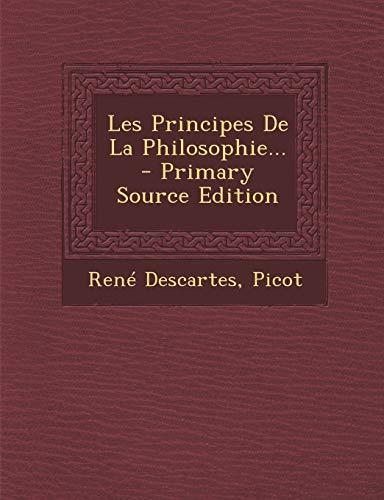 9781294681045: Les Principes De La Philosophie. (French Edition)