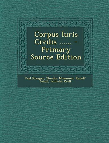 9781294694717: Corpus Iuris Civilis ......