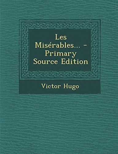 9781294695752: Les Misérables... (French Edition)
