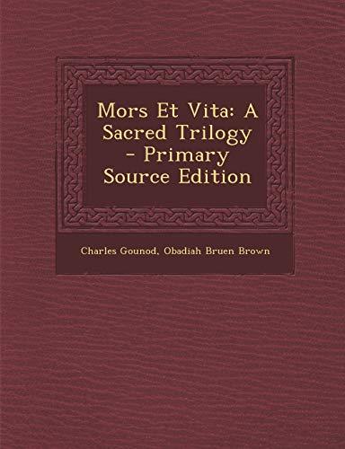 9781294706113: Mors Et Vita: A Sacred Trilogy (Latin Edition)