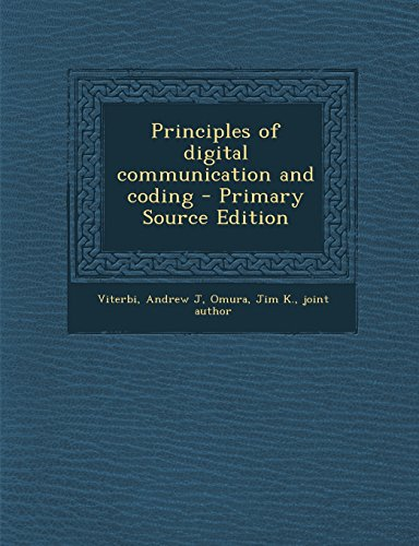 9781294723011: Principles of digital communication and coding