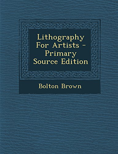 9781294724964: Lithography For Artists