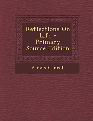 9781294756996: Reflections On Life