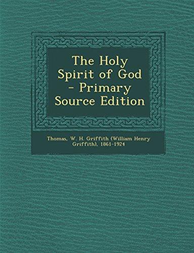 9781294768586: The Holy Spirit of God