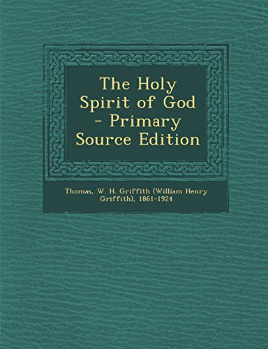 9781294768586: The Holy Spirit of God