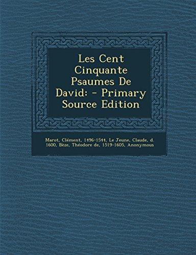 9781294783701: Les Cent Cinquante Psaumes de David