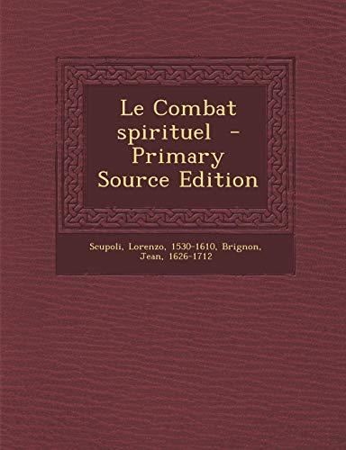 9781294784692: Le Combat Spirituel