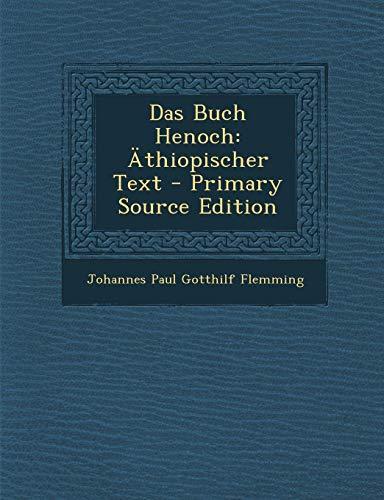9781294789017: Das Buch Henoch: Äthiopischer Text