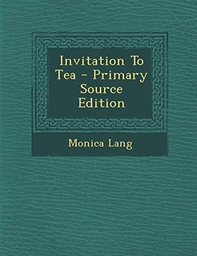 9781294794158: Invitation To Tea