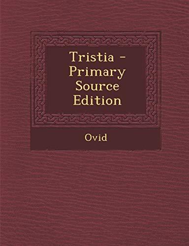 9781294796473: Tristia (Latin Edition)