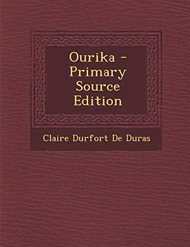 9781294799764: Ourika (French Edition)