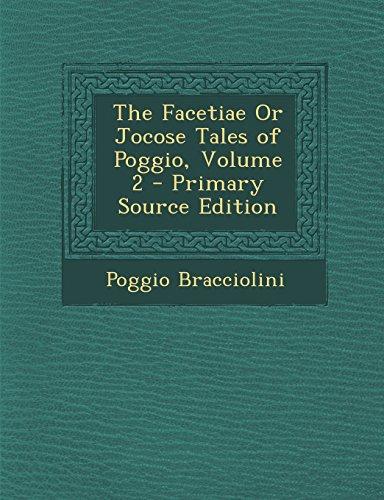 9781294802891: The Facetiae Or Jocose Tales of Poggio, Volume 2