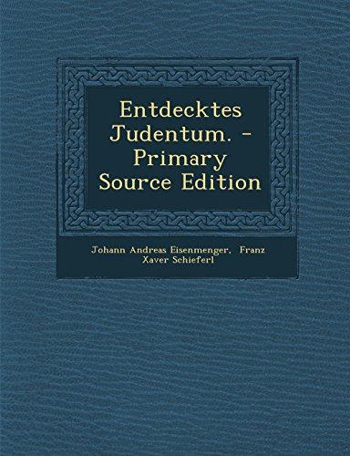 9781294812777: Entdecktes Judentum.