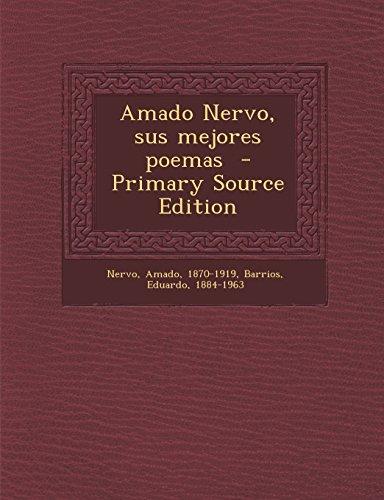 9781294823032: Amado Nervo, sus mejores poemas
