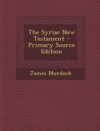 9781294823308: The Syriac New Testament